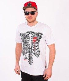 Patriotic-Szkielet T-shirt Biały