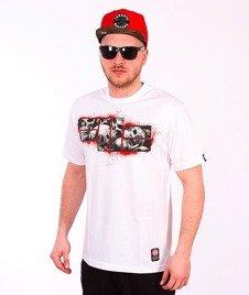 Pit Bull West Coast-Skull Logo T-shirt White