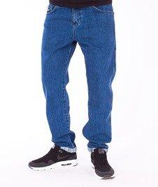 Prosto-Regular Pin Roll Jeans Blue