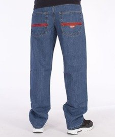 SmokeStory-Lines Regular Jeans Light Blue