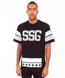 SmokeStory-Lines T-Shirt Czarny