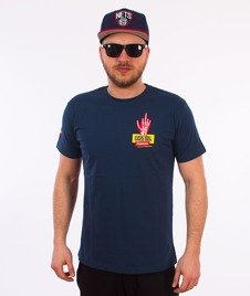 Stoprocent-Skelet T-Shirt Granatowy