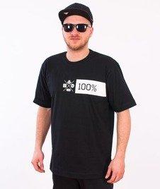 Stoprocent-Szeroko T-Shirt Czarny