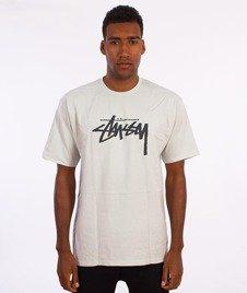 Stussy-Stock T-Shirt Lodowy Niebieski