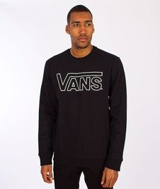 Vans-Classic Crew Black/White Outline