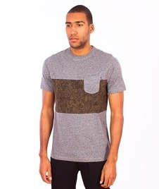 Wrung-Pocketee T-Shirt Szary