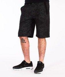 Wrung-Tribal Spodnie Krótkie Czarne