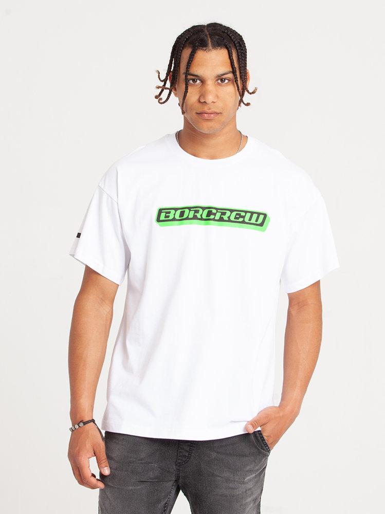 Biuro Ochrony Rapu BOX T-Shirt Oversize Biały