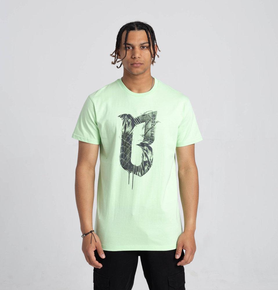Biuro Ochrony Rapu CONCRETE T-Shirt Zielony Neon