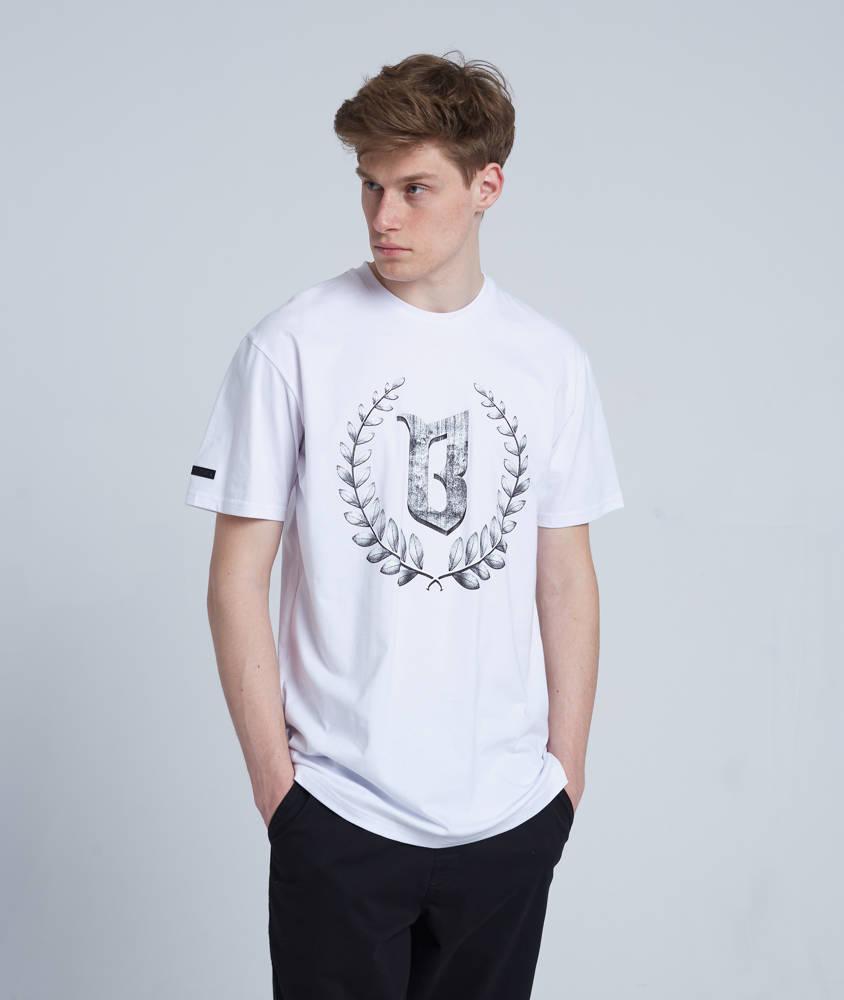 Biuro Ochrony Rapu LAUR STONE T-Shirt Biały