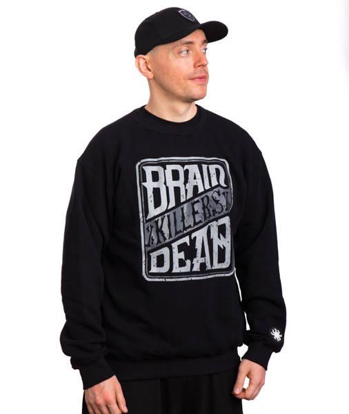 Brain Dead Familia BDF KILLERS Bluza Czarny