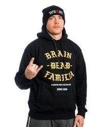 Brain Dead Familia BRAIN DEAD FAMILIA Bluza z Kapturem Czarny
