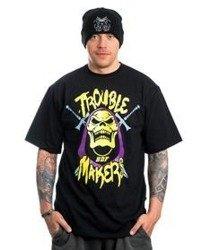 Brain Dead Familia SZKIELETOR T-Shirt Czarny