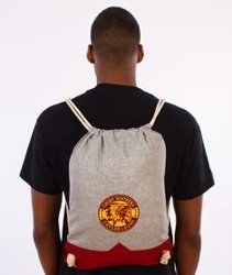 Cayler & Sons-CR Gym Bag Grey/Red/Yellow