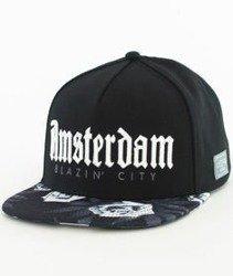 Cayler & Sons-WL Amsterdam Snapback Black