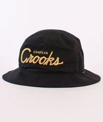 Crooks & Castles Team Crooks Bucket Hat Black