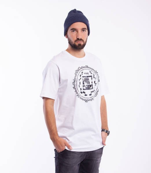DIIL CAMO LAUR T-Shirt Biały