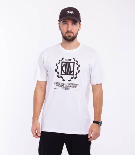 DIIL LAUR T-Shirt Biały