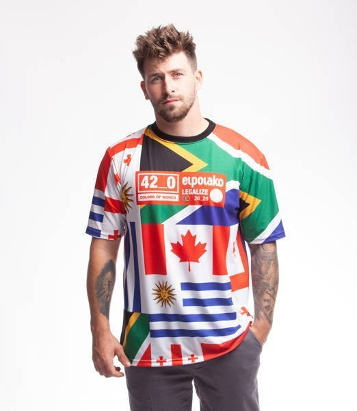El Polako 420 EP T-Shirt Multicolor