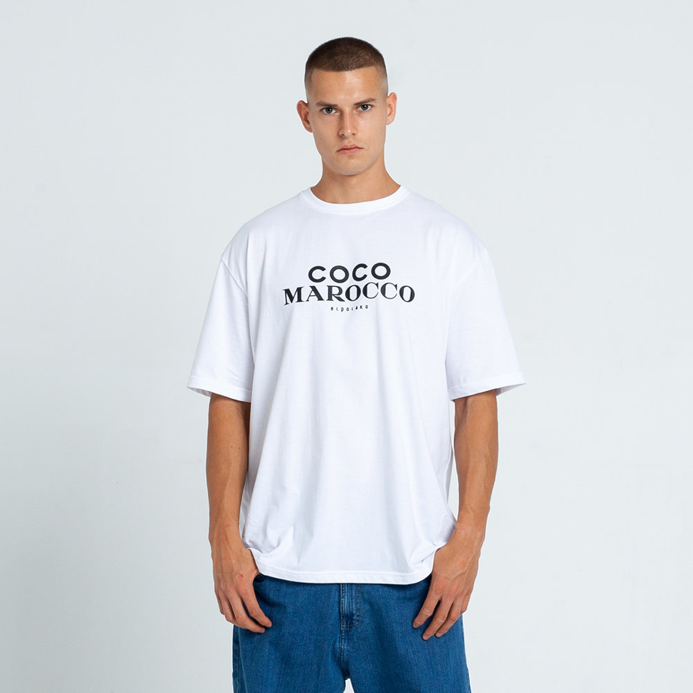 El Polako COCO MAROCCO T-Shirt Biały