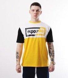 El Polako-Cut Color T-Shirt Żółto/Czarny