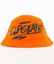 El Polako-Logson Bucket Hat Pomarańczowy