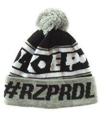 El Polako-#RZPRDL Czapka Zimowa Pompon Szara