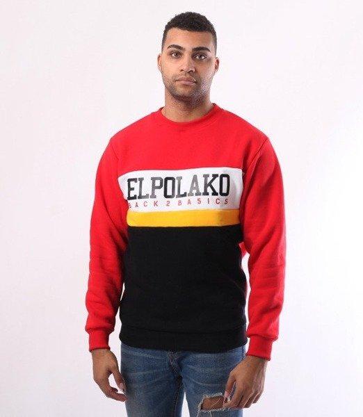 El Polako-School Bluza Czerwony