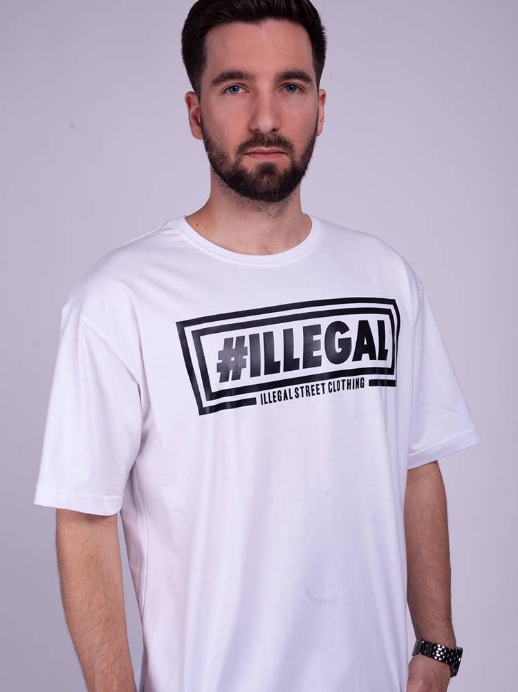 Illegal KLASYK V2 T-Shirt Biały
