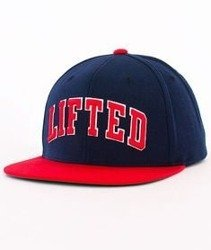LRG-Lifted Snapback Navy/Red