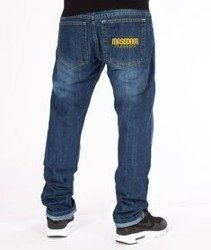 Mass-Classics Straight Fit Jeans Dark Blue