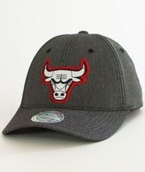Mitchell & Ness-Chicago Bulls Stretch Melange SB Snapback INTL129
