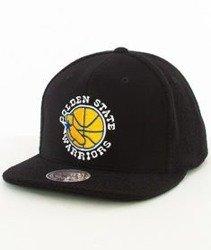 Mitchell & Ness-Golden State Warriors Snapback Czapka VV32Z Czarna