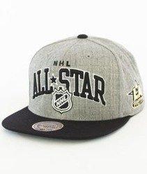 Mitchell & Ness-NHL All Star 2017 ASG Arch Snapback Szary/Czarny