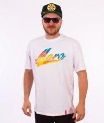 Moro Sport-Baseball Multikolor T-Shirt Biały