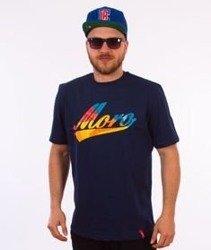 Moro Sport-Baseball Multikolor T-Shirt Granatowy