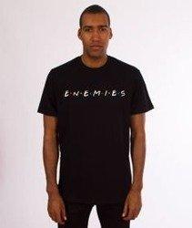 Moro Sport-Enemies T-Shirt Czarny