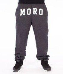 Moro Sport-MORO Spodnie Dresowe Grafitowe