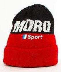 Moro Sport-Sport Flaga Czapka Zimowa Czerwona/Czarna