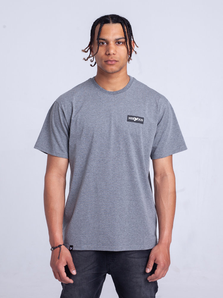 Nervous CLASSIC SMALL T-Shirt Szary