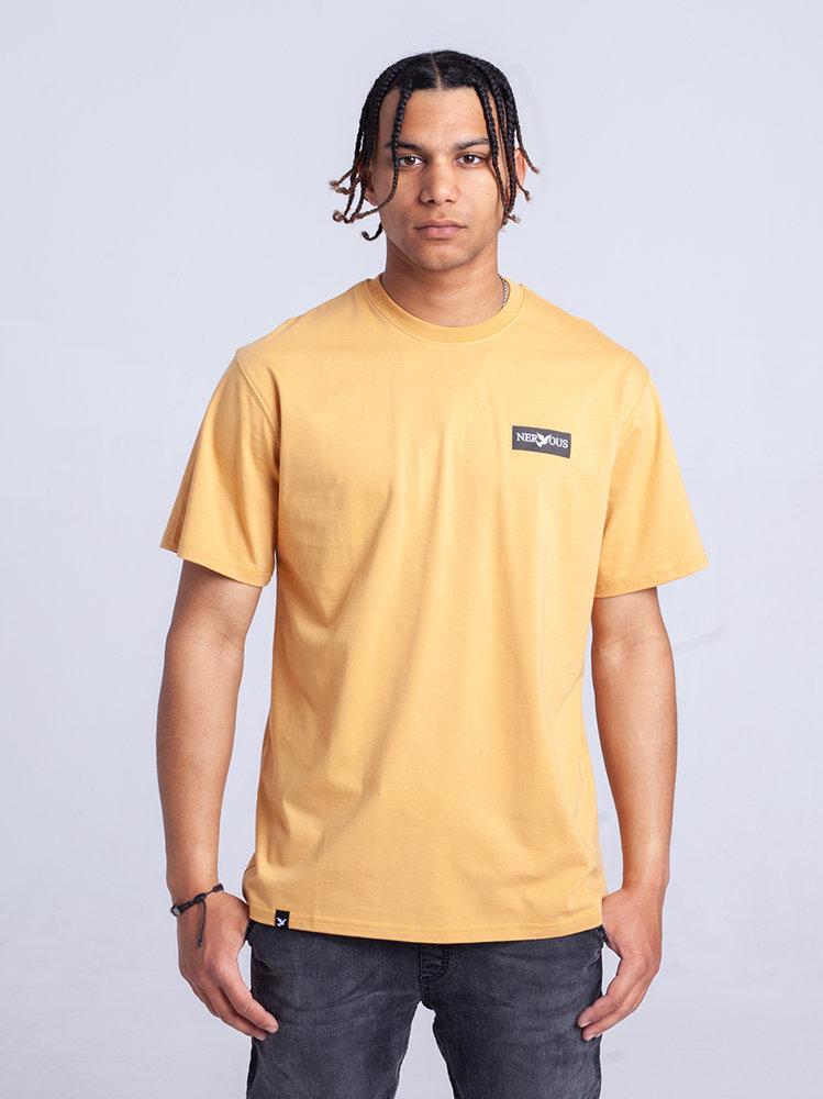 Nervous CLASSIC SMALL T-Shirt Żółty