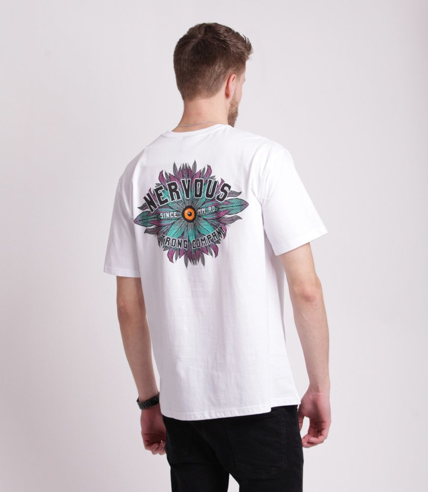 Nervous EYE T-Shirt Biały