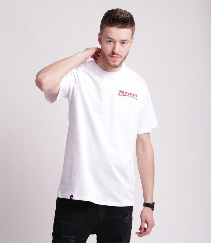 Nervous SUNSET T-Shirt Biały