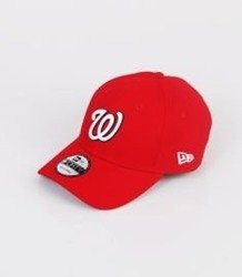 New Era WASHINGTON NATIONALS 9Forty Czapka z Daszkiem Czerwony