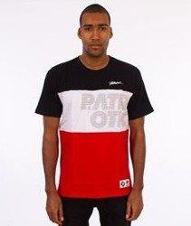 Patriotic-CS Trio T-shirt Czarny/Biały/Czerwony