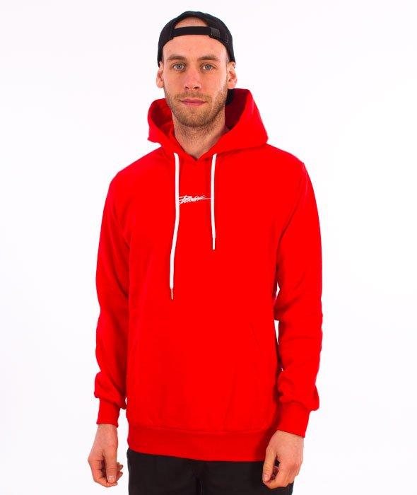 Patriotic-Tag Mini Bluza Kaptur Czerwony