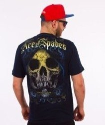 Pit Bull West Coast-Ace Of Spades T-Shirt Granatowy