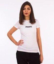 Prosto-Cat T-Shirt Damski Biały