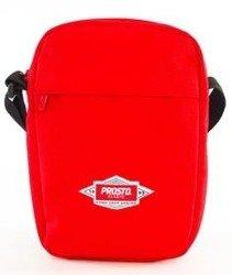 Prosto-Shoulder Bag Defend Torba Listonoszka Red