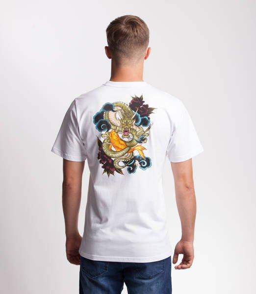 Smoke Story DRAGON T-Shirt Biały